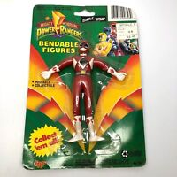 1994 Mighty Morphin Power Rangers Red Jason In Packaging Gordy Toys Bendable