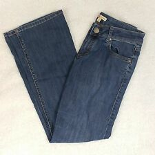 CAbi Flare Jeans - Size 4 - Dark Wash Low Rise Style 333R