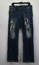 Affliction Black Premium Men's 33 Blake Style Relaxed Straight Fit Denim Jeans