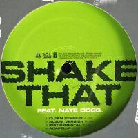 "EMINEM / NATE DOGG ""SHAKE THAT"" 2005 VINYL 12"" SINGLE 8 MIXES ~RARE~ *SEALED*"