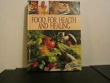 Food For Health and Healing, Health & Wellness, cookbook and reference guide