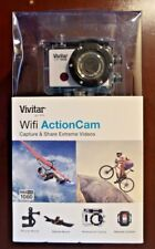Vivitar DVR794HD 1080p HD Wi-Fi Waterproof Action Camcorder Silver