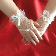 Lace Fingerless Gloves for Women