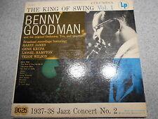BENNY GOODMAN   THE KING OF SWING VOL. 1  LP   COLUMBIA 6 EYE LABEL   449