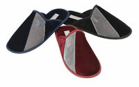 Dunlop Mens Slippers Slip On Mules Thermal Lined Memory Foam In Sock Sizes 7-12