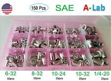 150 Pcs Aluminumrivet Nutkit Rivnut Nutsert Standard Inch Sae Imperial
