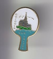 RARE PINS PIN'S .. SPORT PING PONG TENNIS DE TABLE CLUB OUZOUER S/ TREZEE 45 ~D1