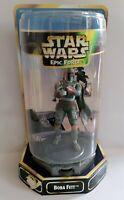 "Kenner Star Wars Epic Force 360 Rotational 6"" Boba Fett Action Figure"