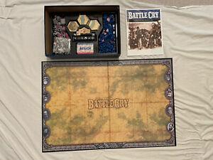 Hasbro Avalon Hill Battle Cry Union Confederates Civil War Battlefield Game