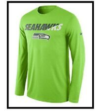 Nike Licensed NFL Seattle Seahawks Dri-fit L s Shirt 2xl XXL Mens  3f4180da9