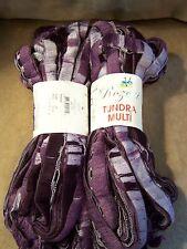 Rozetti Tundra Multi Yarn - 100 Gr. Skeins - Amethyst Color