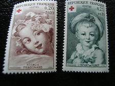 FRANCE - timbre yvert et tellier n° 1366 1367 n** (A17) stamp french