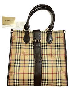 Authentic Burberry  Nova check Tote Bag