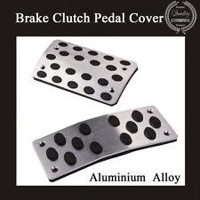 Automatic Aluminium 2 PCS Car Nonslip Brake Clutch Pedal Cover Set Foot Treadle
