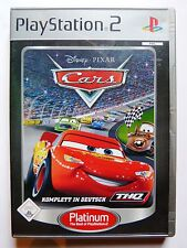 Cars (Sony PlayStation 2, 2008, DVD-Box)