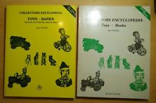 2 VOLS.Collectors Encyclopedia of Toys - Banks. Cast Iron, Tin Wind-Up, Autos+