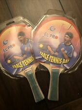 Lot Of 2 Lel Pro Table Tennis Bats
