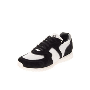 RRP €810 VALENTINO GARAVANI Sneakers EU 41 UK 7 US 8 Contrast Leather Rockstuds
