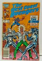 * The West Coast Avengers Comic Issue 7 Marvel Modern Age First Print 1986