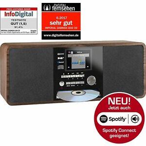 IMPERIAL DABMAN i200 CD Player Internet DAB+ Digital Stereo Radio USB Spotify