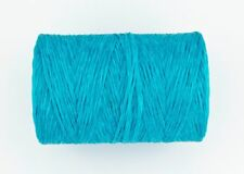 10 Metres Artificial/Imitation Waxed Craft Sinew - Turquoise Blue