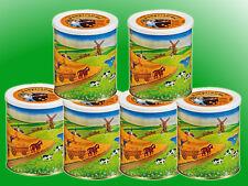 (5,20€/kg) 6 x Vollkornbrot a 500g  Dosenbrot, Notverpflegung, Langzeitnahrung