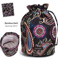 Vera Bradley Lighten Up Mini DITTY BAG great 4 gym snack makeup Bandana Swirl