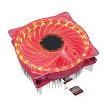 25LED CPU Quiet Cooler Heatsink Fan Computer Fan for Intel AMD 775 LGA775 1150