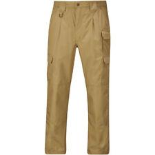 Pantalones de hombre en color principal marrón de poliéster