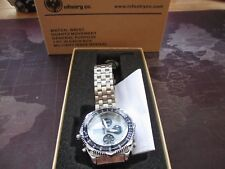 mens infantry co, quartz watch,,military issue revival,, box ,tag instructions