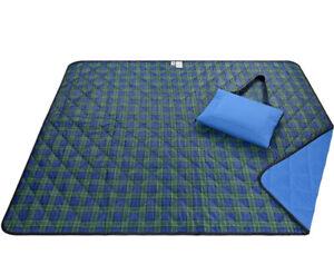 Roebury Beach Blanket Sand Proof & Outdoor Picnic Blanket - Water Resistant L...