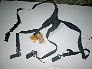 NEW Tactical Tailor LE Duty Belt Molle Cordura Suspenders Black