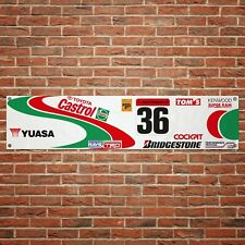 Castrol Supra JGTC Banner Motor Oil Garage Workshop PVC Sign Touring Car Display
