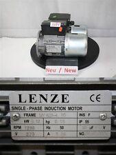 Lenze MON 631-4 MOTEUR ÉLECTRIQUE B5 0,12 kw 1400 minimum triphasé 230 volts