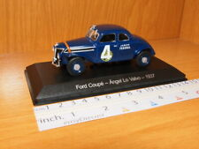 FORD COUPE 1:43 ANGEL LO VALVO 1937 TURISMO CARRETERA TC#4 JABON FEDERAL MINT