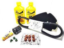 kit tagliando bardahl piaggio beverly 300 RST 4V cinghia RULLI originale 2011