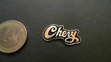 Chevrolet Chevy Retro Pin Schriftzug Logo Emblem Badge gold schwarz 27mm