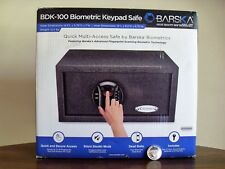 Barska Biometric Fingerprint Keypad Safe BDK-100 Motorized Dead Bolts AX12888