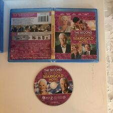 THE SECOND BEST EXOTIC MARIGOLD HOTEL BLU-RAY RICHARD GERE DEV PATEL INDIA DRAMA
