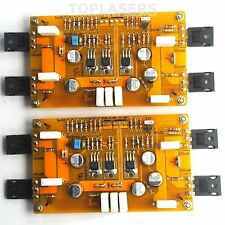 2x PASS A3 HIFI Class A Amplifier Board Single Ended Amp IRFP250 30W 8ohm