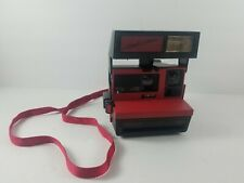 Vintage Polaroid 600 Plus Cool Cam Instant Film Black & Red Untested Sold As Is