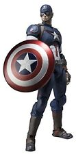 kb09 BANDAI S.H.Figuarts AVENGERS AGE OF ULTRON CAPTAIN AMERICA ACTION FIGURE