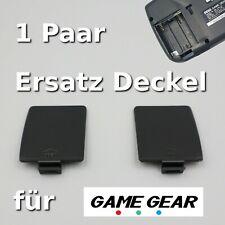 🕹️ Batteriefachdeckel für SEGA Game Gear - 2er Set Deckel Rechts Links Konsole
