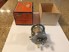 Vintage Shakespeare's Tournament Casting Reel With Box & Tournament Handle .