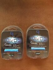 2 packs New G5 HAVOC Dual Trap Blade Retention Replacement Bands & Collars