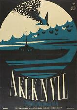 Vtg Orig. Movie Poster GOLUBAYA STRELA 1958 Soviet Russian Goncharov Ostashevsky