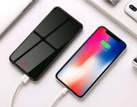 10000mAh Portable LCD Ultrathin 2USB Power Bank External Battery For Cell Phone