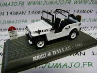 4L2F Voiture 1/43 NOREV Renault R 4 L : Dallas jeep 1983