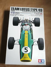TAMIYA LOTUS 49 FORD F-1 ETCHED PARTS MODEL KIT 1/12 Super Detailed Big Scale