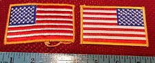 Usa American Flag Us Army Morale Military Normal And Reverse Patches